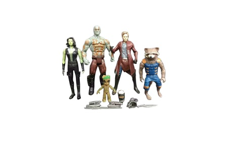 5PCS/Set Guardians of the Galaxy 2 Star Lord Baby Action Figures Toys 4af11b66-01fc-4c7a-b626-b88c58fe7303