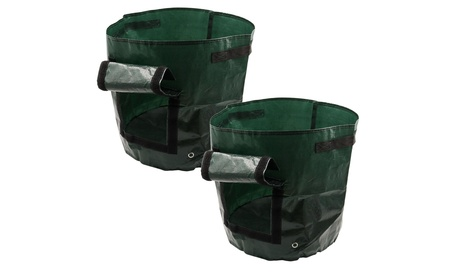 2PC DIY Potato Grow Planter PE Cloth Planting Container Bag Thicken Garden Pot