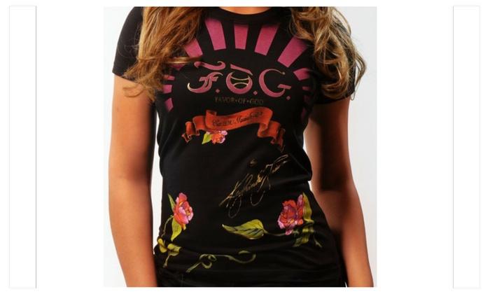 PINK SUNRISE Favor Of God T-shirt (Women)