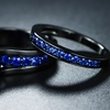 Lab-Created Sapphire Ring Set