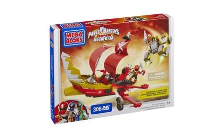 Mega Bloks Power Rangers Sky Ship Showdown 93730f12-a78f-4d18-a9a7-54f96f80b36e