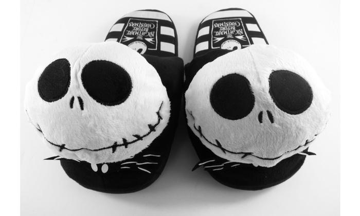 slippers nightmare before christmas jack skellington