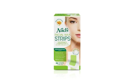 Nad's Hypoallergenic Facial Wax Strips, 24 strips (Pack of 2) aa57e4c5-678e-4f3e-b23d-4169d209fcc0