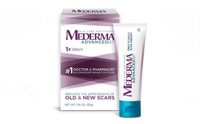 Mederma Advanced Scar Gel - 1x Daily - Reduces the Appearance of Old & New Scars
