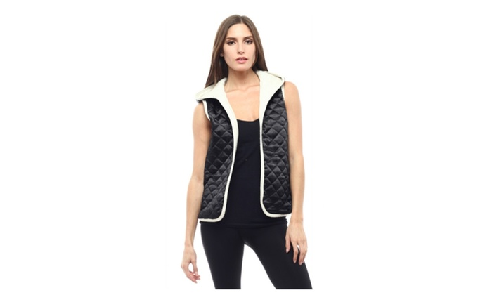 Sleeveless quilted vest women's jacket