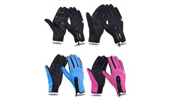 Unisex Waterproof Winter Ski Gloves Camping Thermal Gloves for Women Men
