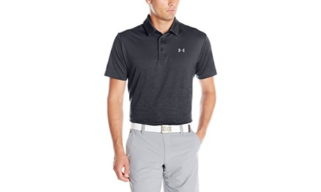 Under Armour Mens UA Playoff Polo - L - Black/Graphite e4a56caa-3838-4ab2-806d-555f27aa1f75