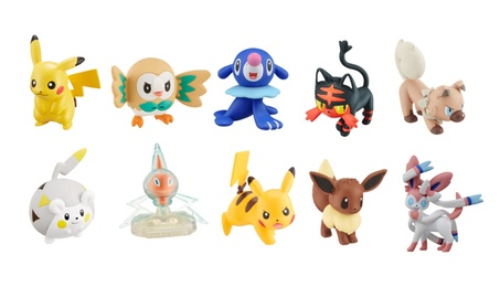 Takaratomy Pokemon EMC Action Figures - 10 Characters Available d44884eb-ddd6-4707-abbb-8f1241560278