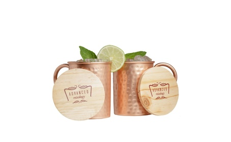 Advanced Mixology 16-Ounce Set of 2 Moscow Mule Copper Mugs, Classic 78006914-f7d4-4c73-8ac0-43c559775c09