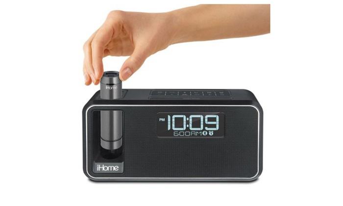 iHome IH-IKN95-BK Kineta Dual Charging Stereo Alarm