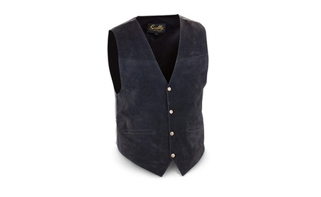 Scully 503-63-48 Mens Leather Wear Lamb Western Vest