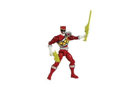 "Power Rangers Dino Charge - 5"" Red Ranger Action Hero b3e106f4-1e04-4640-80cc-c6eea124488c"