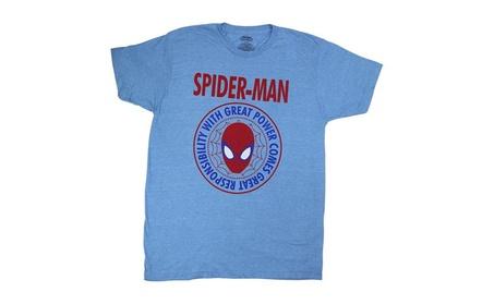 C-Life Marvel Comics Spider-Man Great Power T Shirt e234fe64-9fe0-496f-a809-2857b663fb27