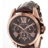 Michael Kors 'Bradshaw' Chronograph Leather Strap Watch