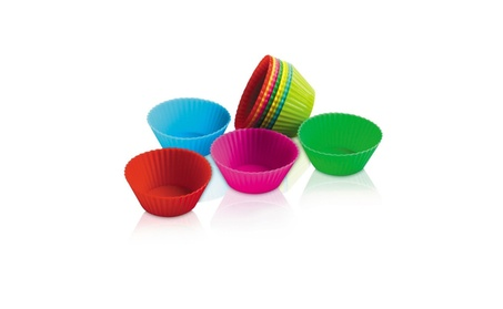 Bake & Serve Mini Silicone Muffin Cupcake Cups Set of 12 9968be6f-5ce3-4ccd-902b-2d0c6df12b7f