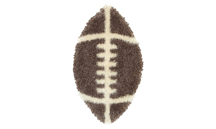 Senses Fluffy Rugby Ball Shaped Shags With Increased Rug
