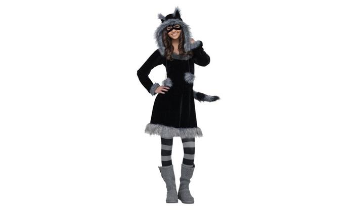 Fun World Sweet Raccoon Teen 0-9