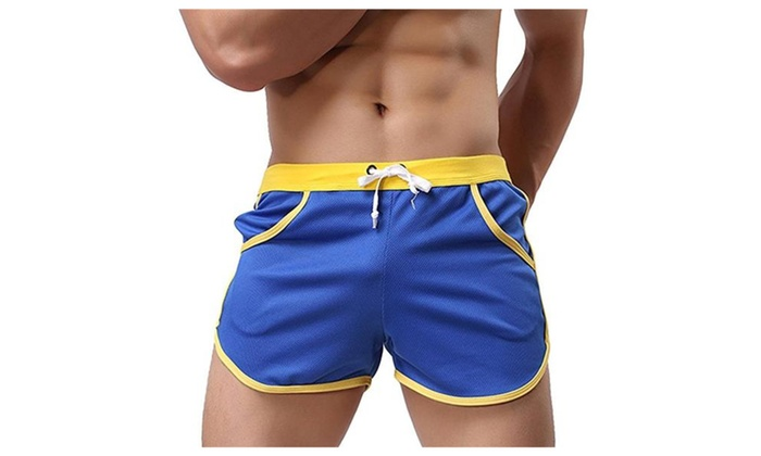 Men's Board Beach Shorts Quick Dry Surf Swim Trunks  Watershorts