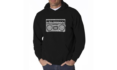 Men's Hooded Sweatshirt - Greatest Rap Hits of The 1980's c366f990-11f9-427c-953b-bbcf174980ad