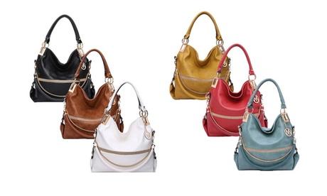 MKF Collection Twister Hobo Handbag by Mia K. Farrow 821e9f24-20fb-42ed-b3ac-a9391e37ba6c