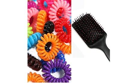 Women's Hair Massage Brush Fancy Hair Ties Hair Styling Tool Hair Accessories