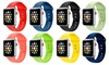 Silicone Sport Replacement Watch Band for Apple Watch Series 1-3 (16-Colors)