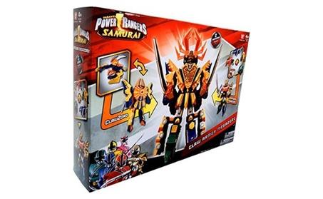 Power Rangers Samurai Deluxe DX Action Figure 2Pack Claw Armor Megazor 292d2583-9740-414e-af6d-c2f1f0f205f4