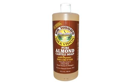 Dr. Woods 0771931 Pure Castile Soap Almond - 32 fl oz 190e8fb4-d23d-4d04-9bcc-7f9dd2f12027