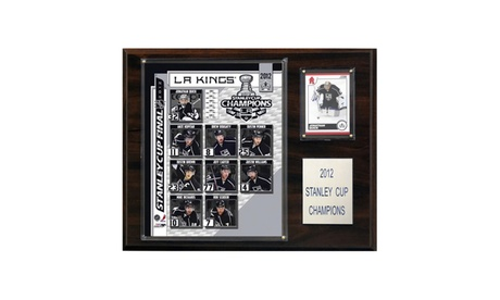 "NHL 12""x15"" Los Angeles Kings 2012 Stanley Cup Champions Plaque b50adf2b-da68-4b77-9295-a87a8df7e82a"