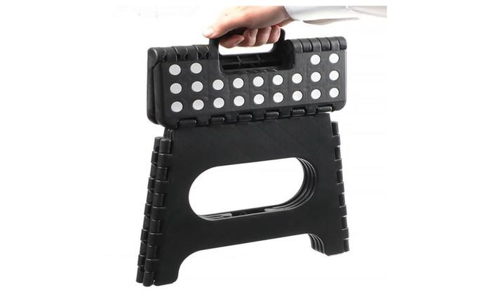 plastic folding step stool with handle - Folding Step Stool
