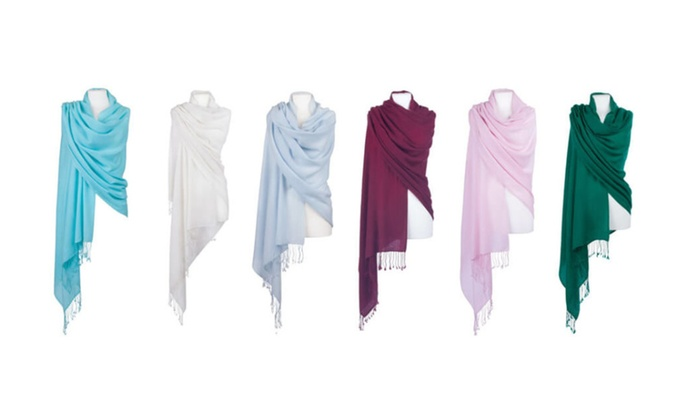 Women's Luxurious Pashmina Scarves - Assorted Colors