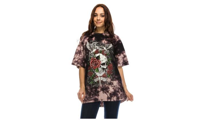 Women's Graphic Tunic Tee