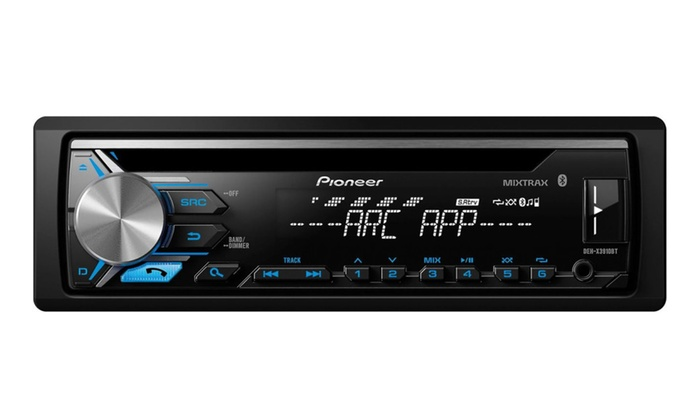 Pioneer 1din Car Stereo Cd Player Receiver W Bluetooth Usb Aux Rhgroupon: Car Radio With Cd Player At Gmaili.net