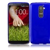 Insten Frosted Tpu Gel Case Cover Blue For Lg G2