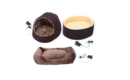 Electric Heated Pet Bed Dog Cat Puppy Kitty Heating Nesting Pads Mats fb5b65b2-10c2-42db-ac7e-61000c97ff4e
