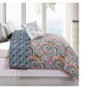 Ruthy's Textile 6-Piece Luxury Oversized/Overfilled Comforter Set