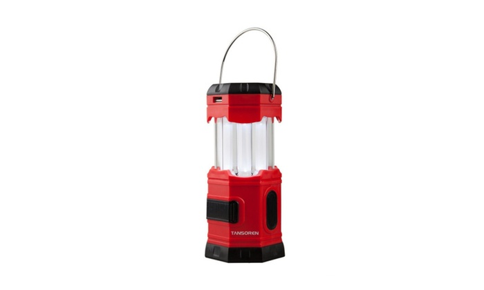 Pop-Up Four Way Powered Solar Lantern with USB Charger