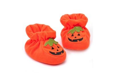 Toddler Halloween Cartoon Style Crib Shoes 77ff47f7-5e3e-4572-9b4b-f78e26c4b91e