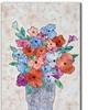 Garner Lewis Flowers in Bloom Canvas Print 16 x 24