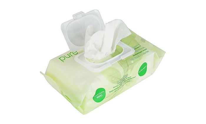 Fresh N Clean Pure Face Hand And Baby Wet Wipes Unscented