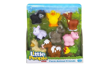 Fisher Price Little People Zoo Animal & Farm Animal Friends 1e67d1ef-44cb-461d-bf09-471e7aea3c64