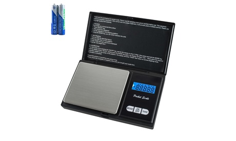 1000g Mini Precision Digital Scales for Gold Jewelry 0.1 Weight Electronic Scale