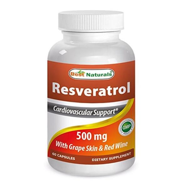 Best Naturals Resveratrol 500 Mg 60 Capsules Groupon