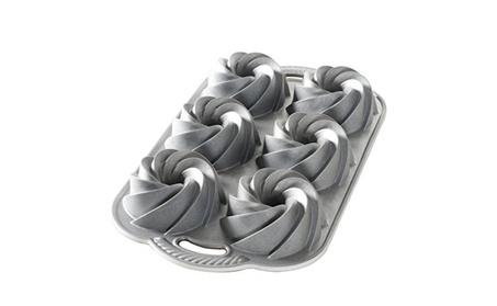 Nordic Ware Heritage Bundtlette Cake Pan, Metallic fd87f9a5-9c0d-4c80-908f-31adee27161c