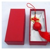 A99 Golf Ball Pendant - Red Chinese Knot Gift Pack