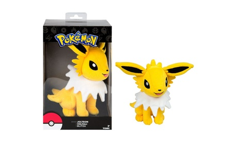 Pokemon Joteon Soft Plush Figure Toy Anime Stuffed Animal e747a951-be81-4863-9e2f-be6aa6ef9127