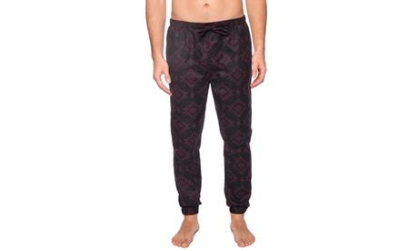 Men's 100% Cotton Flannel Jogger Lounge Pant - Aztec Black/Fig - Medium a518c7c8-48ad-4bd9-a881-8c2748c0268c