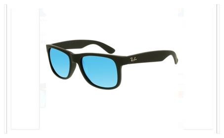 RAY BAN Sunglasses RB 4165 622/55 Black Rubber 51MM 866da0bc-be8f-4a9e-9696-df0e6897a53b