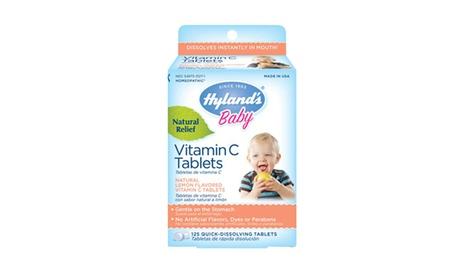 Hyland's Vitamin C Tablets, 125 Tablets 2a192a4b-9f94-47eb-8062-d2e3b8a780f1