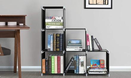 3 Tier 6/9 Grids Non-woven Closet Bin Organizer Storage Shelf Bookcase